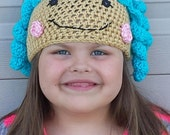 Mittens Fluff n Stuff Lalaloopsy Inspired Crochet Hat Pattern...Permission to sell hat