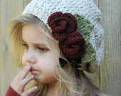 Knitting PATTERN-The Nadilynn Slouchy (12/18 months, Toddler, Child, Adult sizes)