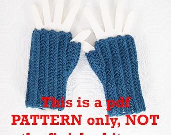 Instant download crochet fingerless gloves pattern - PDF pattern DIY crochet pattern Winter Fashion Winter Accessories Sandy Coastal Designs