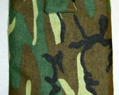 Green Camouflage E-Reader Sleeve