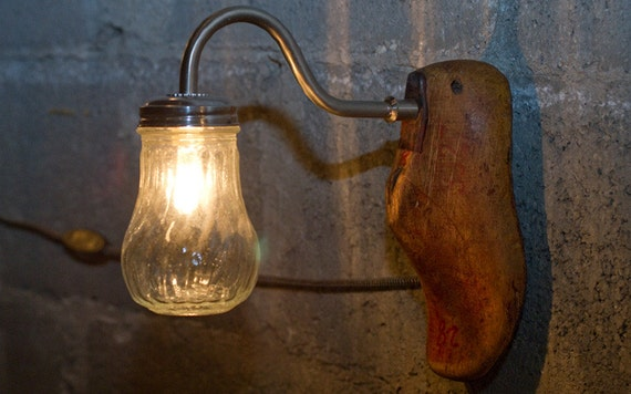 Items Similar To Wall Mounted Lamp Steampunk Lamp