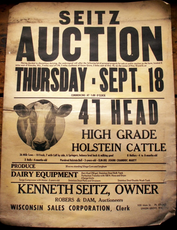 Vintage Poster Auction 7