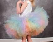 Rainbow Sewn Tutu Pastel Tutu Couture Tutus Ballet Tutu
