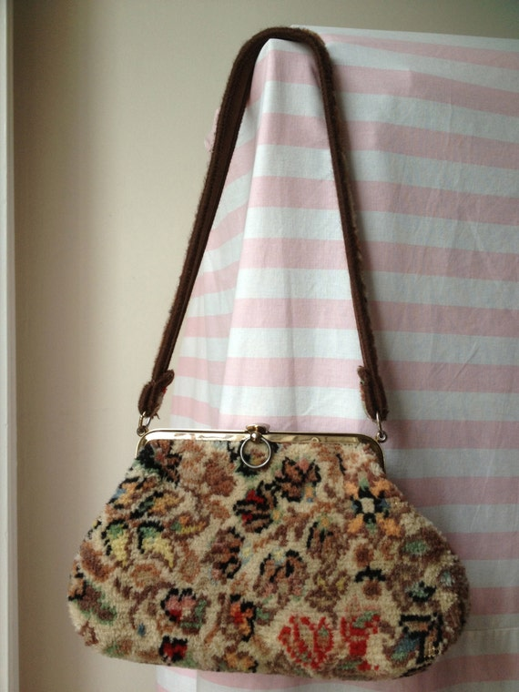 Vintage handbag by Carpet Bags of Rougham in Suffolk England