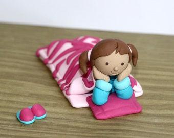 Custom Made Slumber / Pajama Party Cake Topper