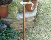 Rain gauge copper and brass great gift