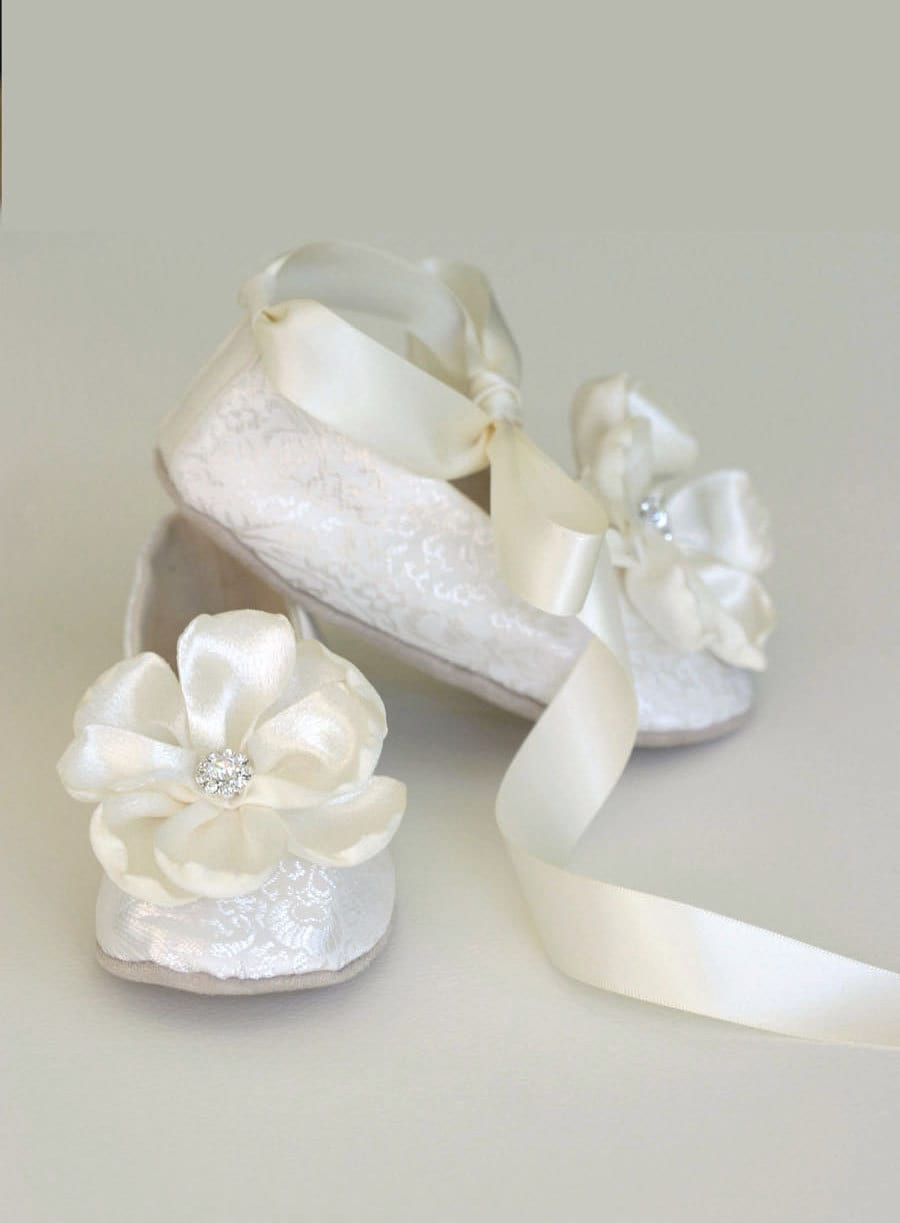Baby Ivory Ballet Shoes