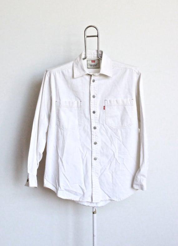 Levis Denim Shirt Womens