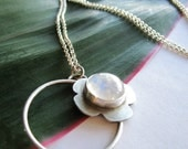 SALE - Asymmetrical Moonstone Necklace