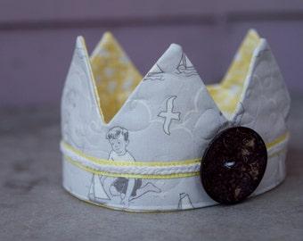 Fabric Crown - Seaside Princess/Prince