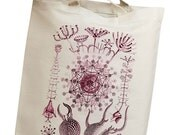 Plankton & Algae Group 02 Eco Friendly Canvas Tote Bag (isl081)