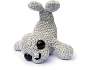 Seal Amigurumi Crochet Pattern PDF Instant Download - Sable