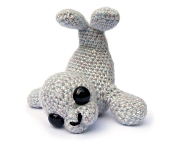 Seal Amigurumi Crochet Pattern PDF Instant Download - Sable
