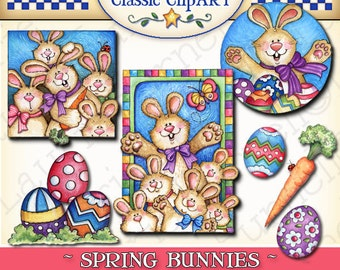 Easter clipart, Spring clipart, Easter digital art, Laurie Furnell, scrapbook supplies, Spring printables, papercrafts, Easter art