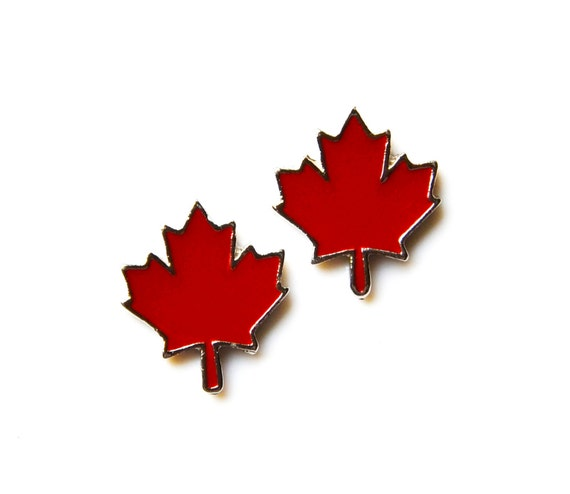 Canada Cufflinks - Gifts for Men - Anniversary Gift - Handmade - Gift Box Included