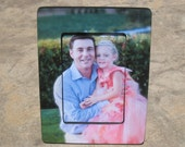 Personalized Picture Frame, Unique Flower Girl Gift, Maid of Honor Picture Frame, Best Man Gift, Unique Gift