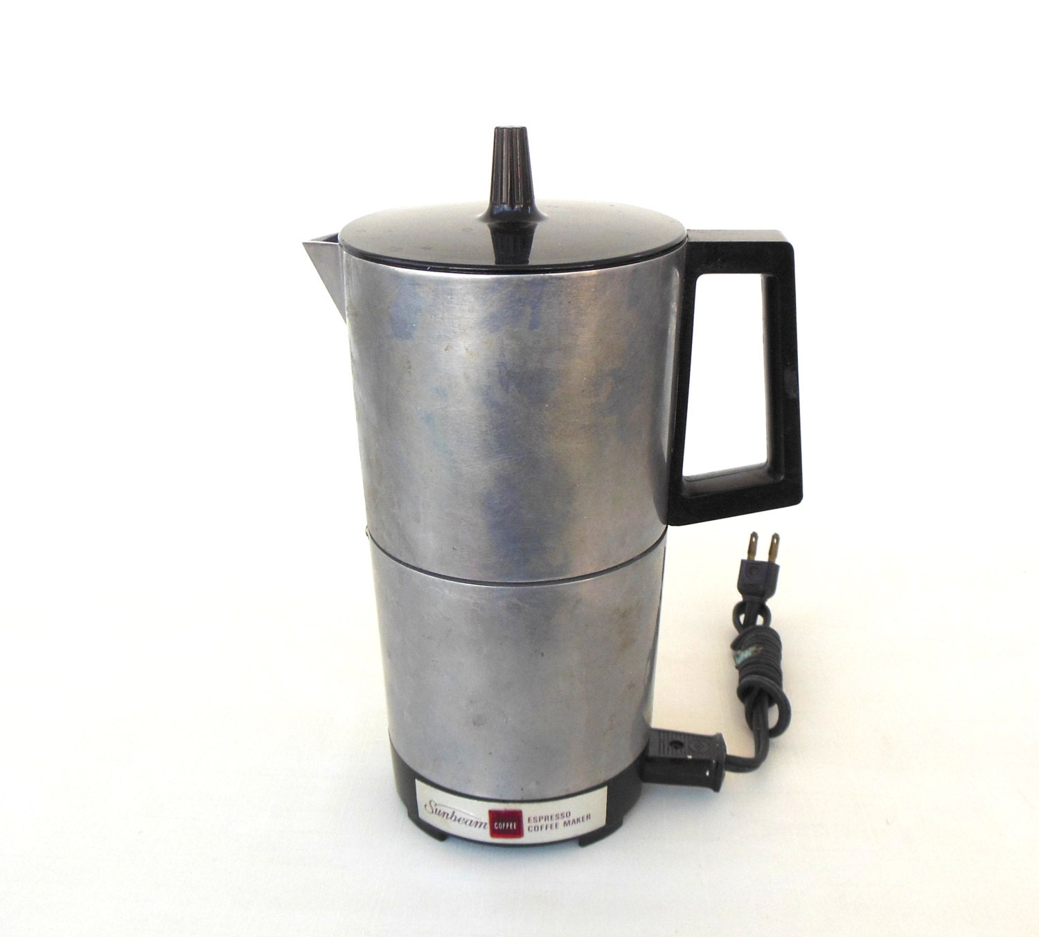 Sunbeam Percolator Coffee Maker : Sunbeam Espresso Maker Electric Small Appliance Vintage IES 1C