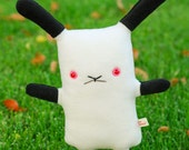 "Californian bunny, Himalayan bunny plush, cute bunny stuffed animal, kawaii bunny plushie, bunny rabbit toy doll, 12"" tall, lapin usagi"
