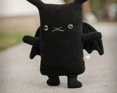 Bunny x Bat plush = BatBun, bunny stuffed animal, kawaii bunny, cute bunny toy doll, rabbit lapin usagi plushie, kids gift, boys room decor
