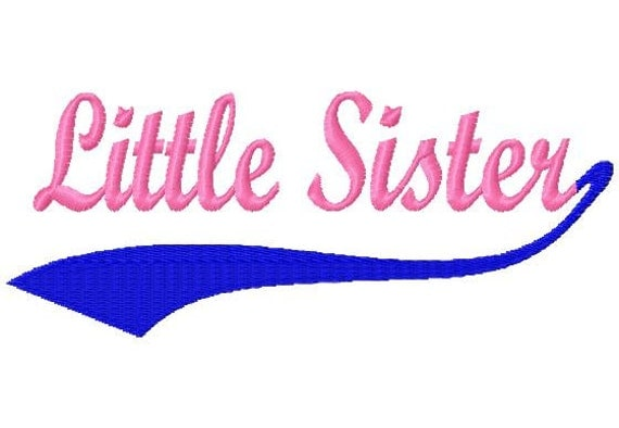 Baseball Swoosh Little Sister Machine By LilliPadGifts On Etsy
