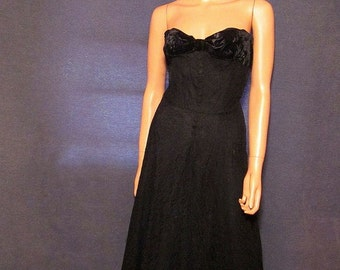 Vintage Frank Starr Ted Shore Original Gown Small