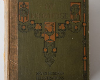 1927 book, The Wonder Book of Knowledge, Illustrated from Diz Has Neat Stuff