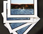 Fall View Smith Mountain Lake ( 4 Note Cards)