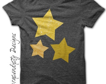 Star Iron on Transfer - Iron on Space Shirt PDF / Toddler Star Shirt / Twinkle Little Star Printable / Outer Space Birthday Party IT120-P