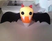 Candy Corn Vampire Bat Plush