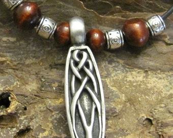 Celtic Knot Surfer Necklace