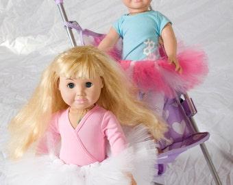 """Baby Doll Tutu:  CUSTOM Tutu For 18"""" Doll or American Girl Doll"""