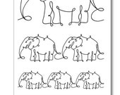 Madelyn the Elephant Clear Stamp Set