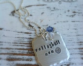 Stamped Sport Necklace