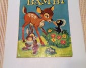 Walt Disney's BAMBI No. 3 published by Dell