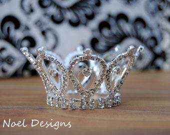 Newborn Crown- Photo Prop- crown cake topper- crown supplies- baby crown- baby tiara- tiara photo prop- baby princess- princess photo prop
