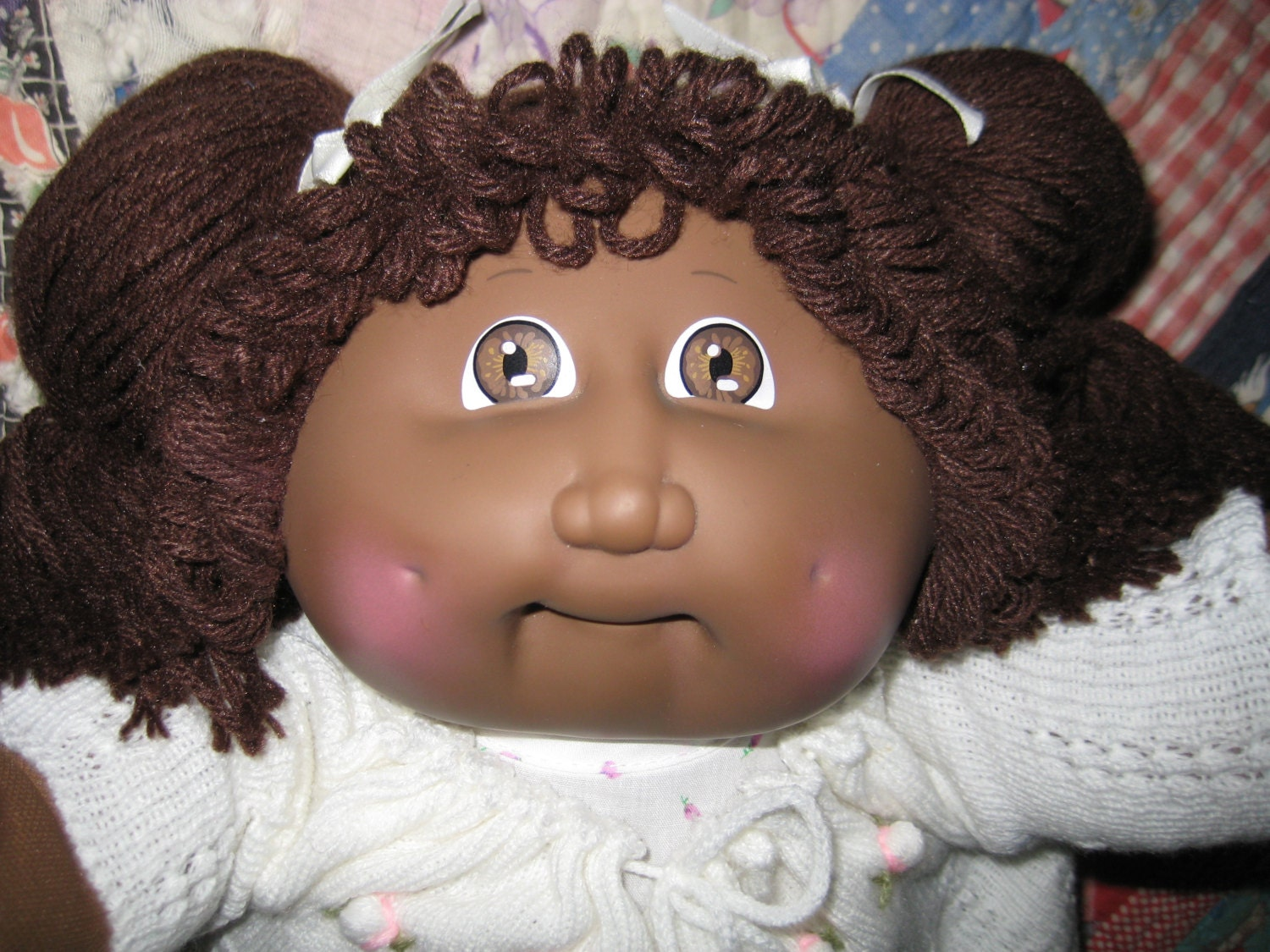 RESERVED Vintage Cabbage Patch Kid Doll Girl Beautiful