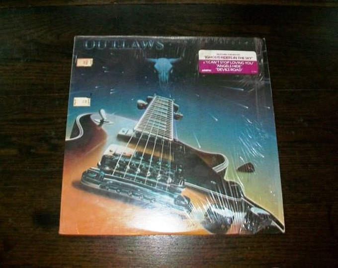 Outlaws Ghost Riders Record Album 1980 Vinyl AL 9542