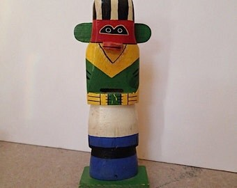 Vintage Rare Kachina Bank From 1960s