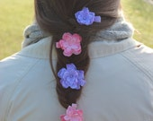 Rapunzel Inspired Flowers   No Slip Clip