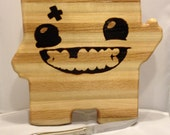 Hand crafted SUPER MEAT BOY Butcher Block