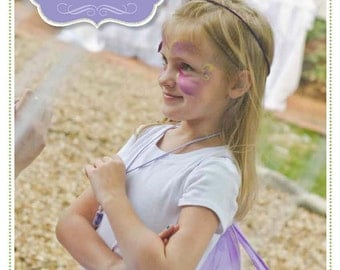 Flower Fairy Party Plan: A 60-Page eGuide to Planning Your Own Fairy Party INSTANT DOWNLOAD + 10% off Party Supplies Coupon