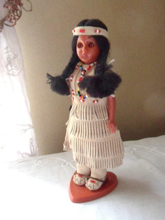 Cherokee Princess Doll No 20 4N Carlson Indian Doll Carlson