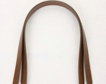1 pair 55cm Bag Handle, Artificial PU leather strap, 2cm wide, 1 pair, 3 colors for choice (T37)