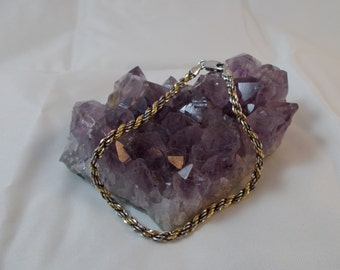 Sterling Silver Gold Vermeil Bracelet