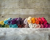 Newborn Cheesecloth Wrap Photography Prop Hand Dyed 3 ft x 6 ft Pick Your Color RTS