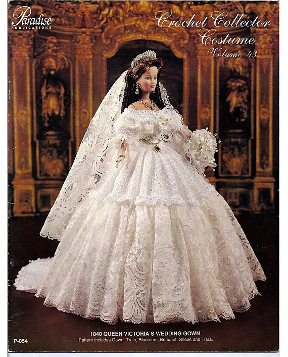 1840 Queen Victoria's Wedding Gown Crochet Collector