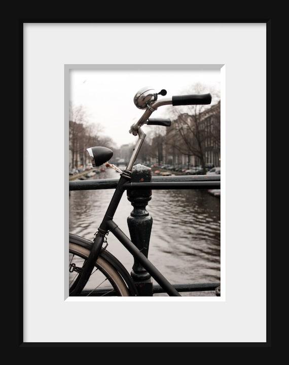bike art Amsterdam photography vintage bicycle print art travel poster photogaphy urban art still life photography 4x6 5x7 6x8 8x10 10x15