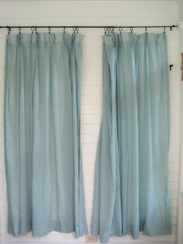 Reserved Listingfor P S Vintage Blue Sheer