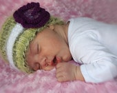St Patricks Day Baby Girl Hat Shamrock kids hat