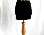 1980's Vintage Beige Waist Belt
